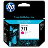 HP Magenta Ink Cartridge 711 [CZ131A] - Tinta Printer Wide Format HP